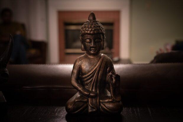 Buddha-Figur für zuhause