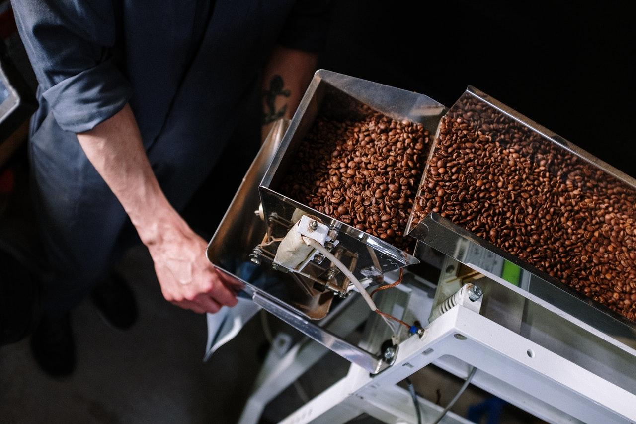 Verpackungsmaschine für Kaffee
